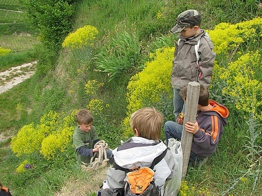Führung Kindergruppe Birgit